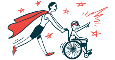 rare disease clinical trial participants   Prader Willi News   Illustration of woman in cape pushing child in wheelchair